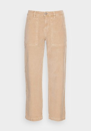 MELVIN - Trousers - cashmere cream