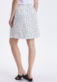 b.young - BYPANDINA  - A-line skirt - off white - 2