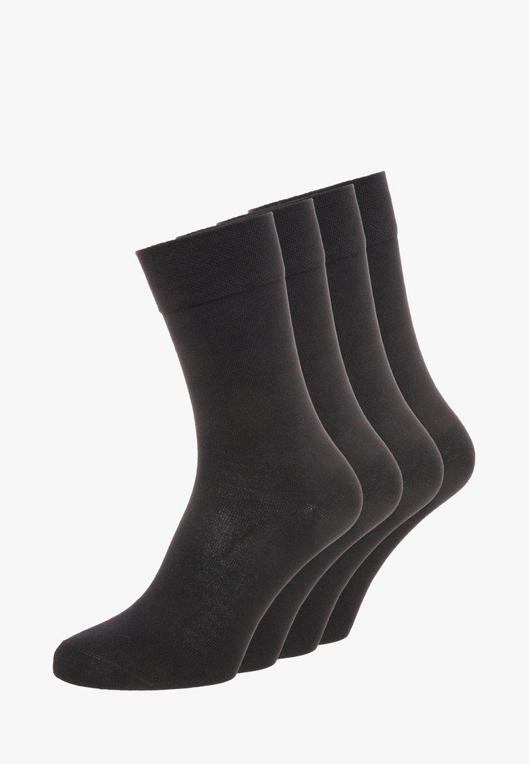 camano - 4 PACK - Socks - black