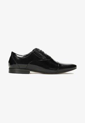 GONZALO - Elegantní šněrovací boty - black