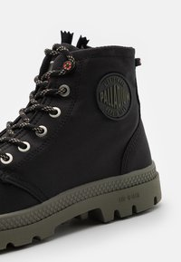 Palladium - PAMPA RCYCL LT WP UNISEX - Lace-up ankle boots - black - 5
