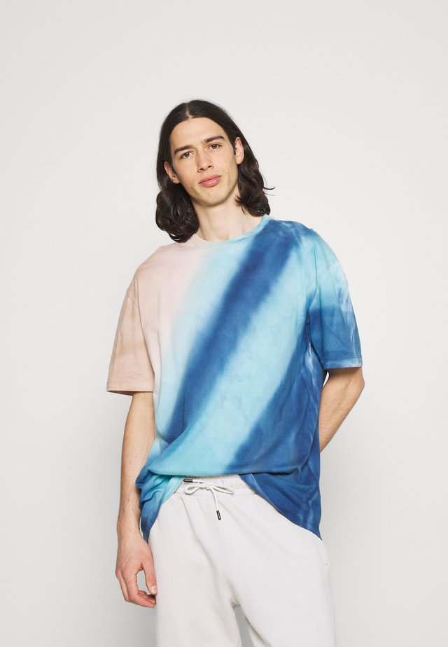 TIE DYE TEE - T-shirt con stampa - multi