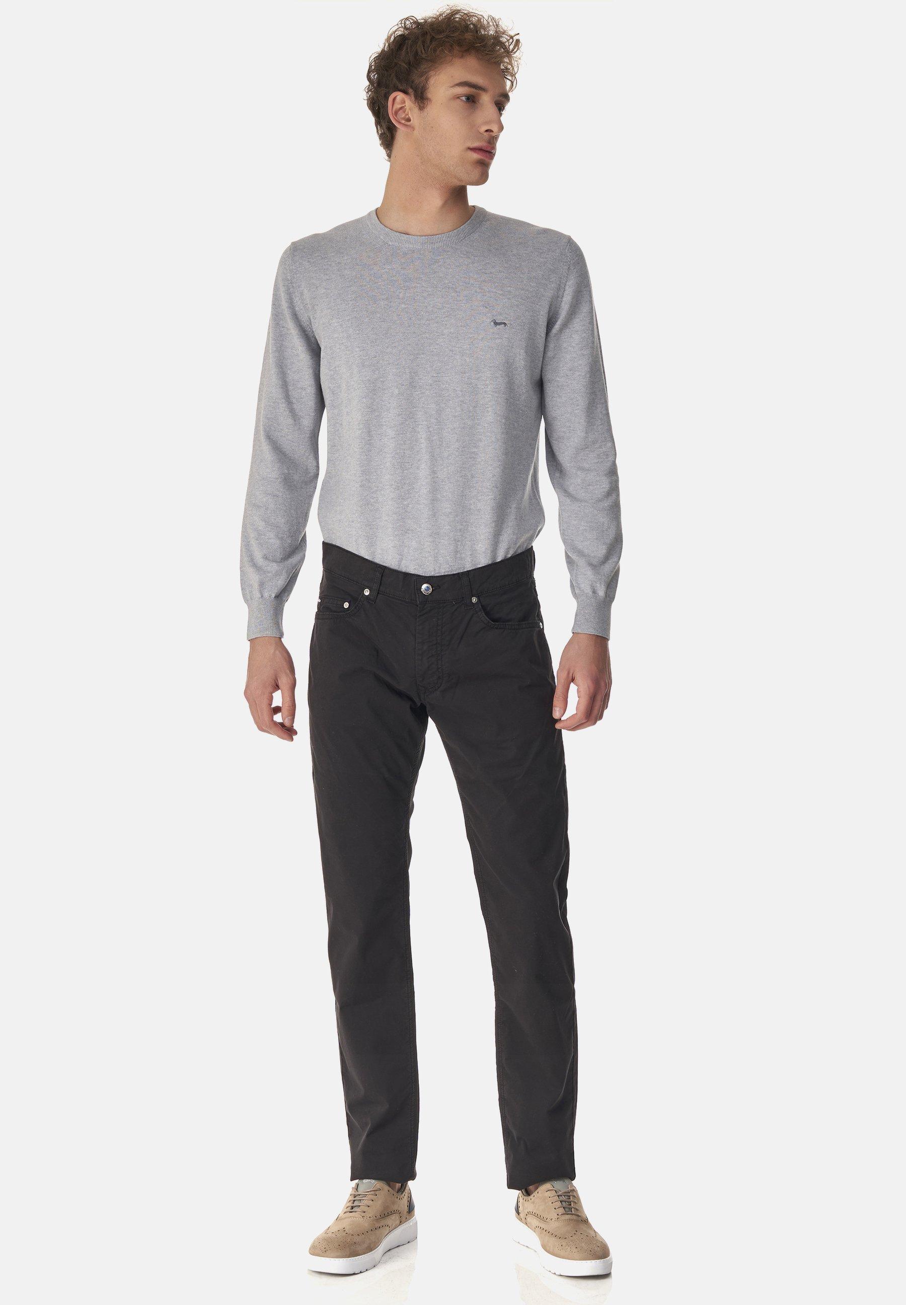 Uomo PANTALONE 5 TASCHE IN COTONE - Pantaloni