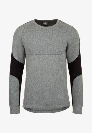EVOSTRIPE CREW TRAININGSSWEAT HERREN - Sweatshirt - gray