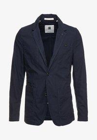 G-Star - PAKKE STRAIGHT FIT - Blazere - mazarine blue - 4