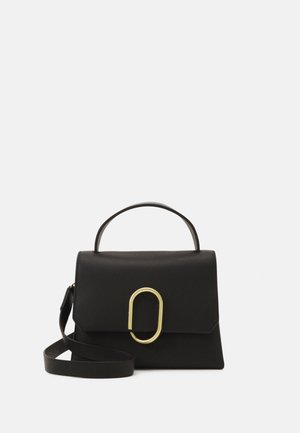 ALIX MINI TOP HANDLE SATCHEL - Handväska - black
