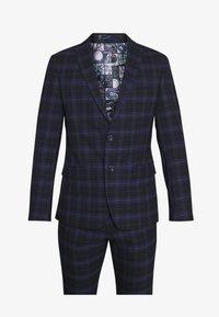 Ben Sherman Tailoring - CHECK SUIT - Completo - dark blue - 9