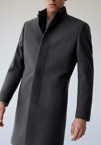 Mango - FUNNEL - Classic coat - grau - 3