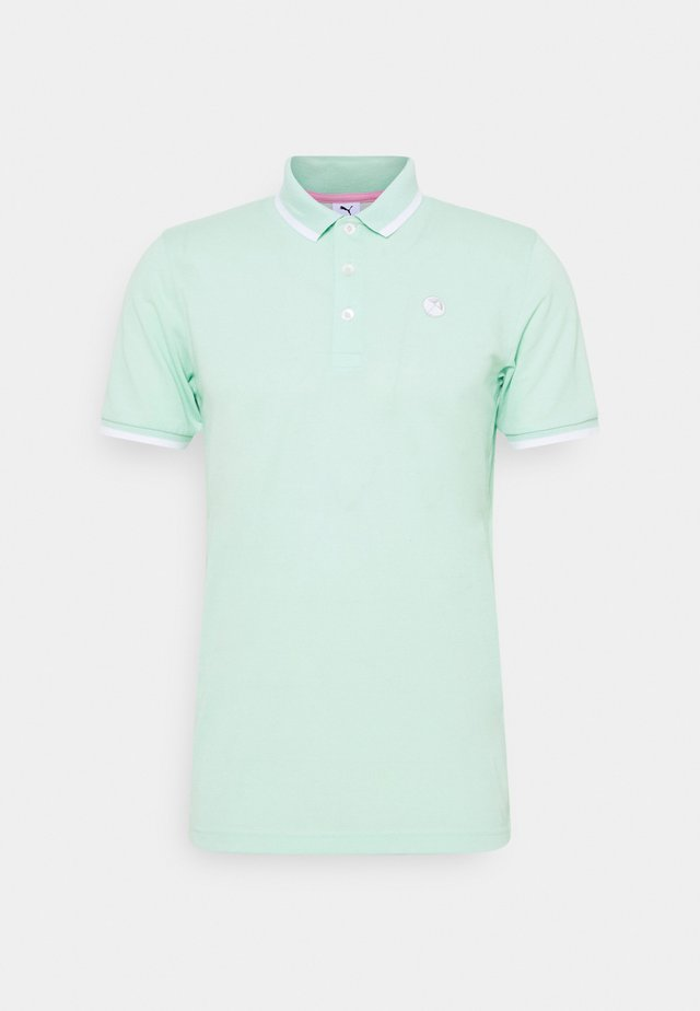 SIGNATURE TIPPED - Polo - mist green