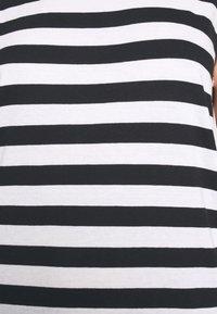 Even&Odd - Vestito di maglina - black/white - 5