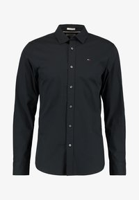 Tommy Jeans - ORIGINAL STRETCH SLIM FIT - Košile - black - 4