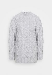 River Island - ULTIMATE CABLE  - Jumper - grey light marl - 0