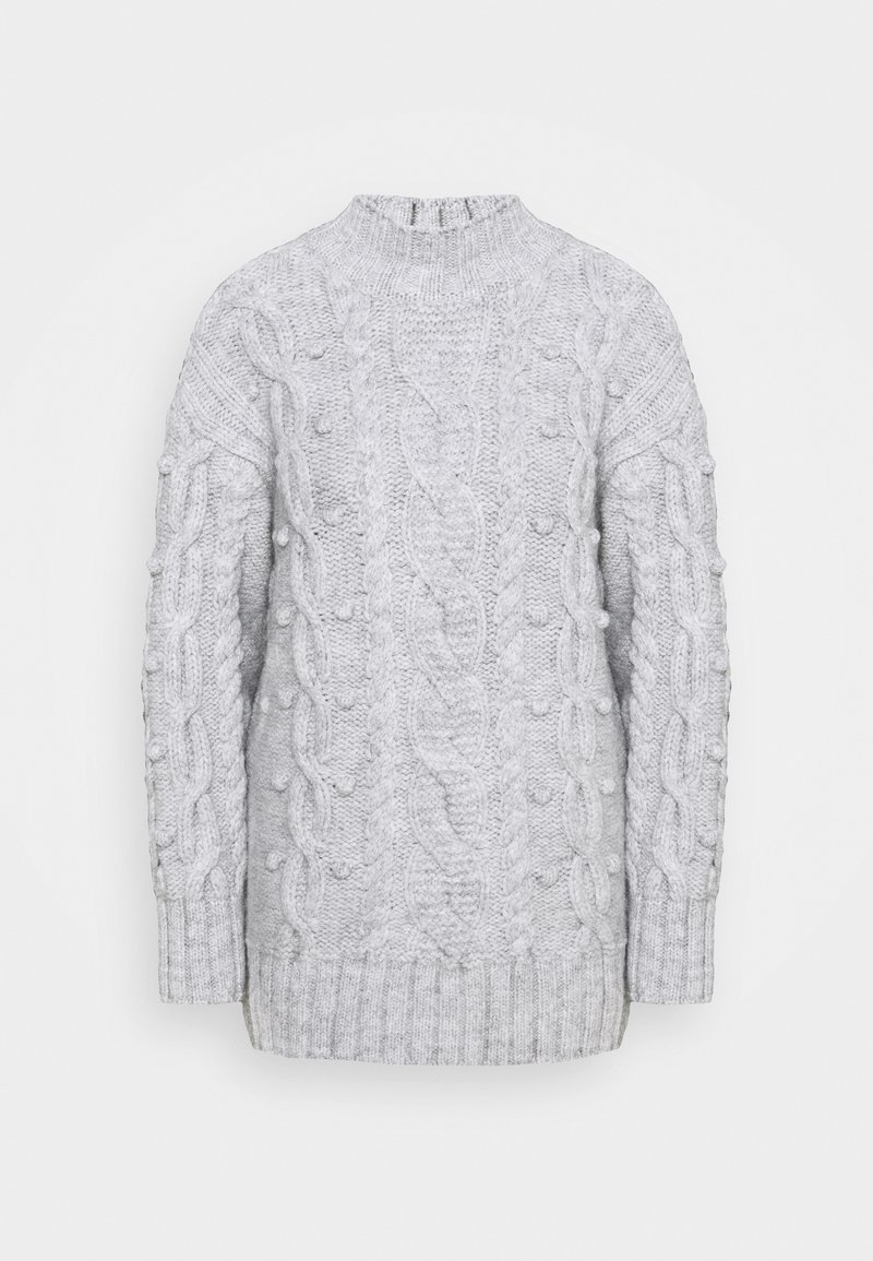 River Island - ULTIMATE CABLE  - Jumper - grey light marl