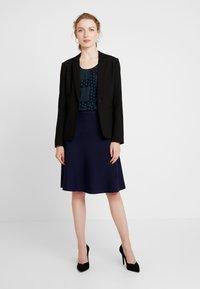 Anna Field - Áčková sukně - dark blue - 1