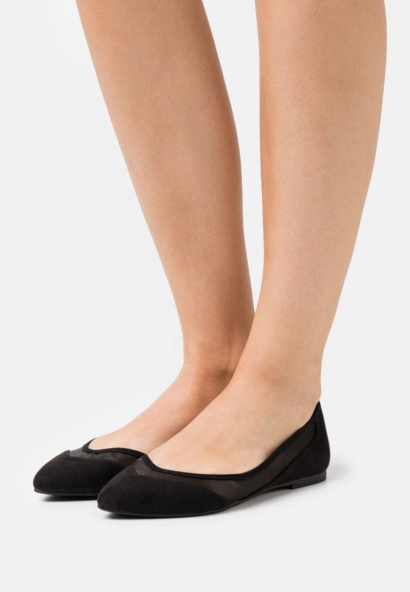 Even&Odd - Ballerina's - black