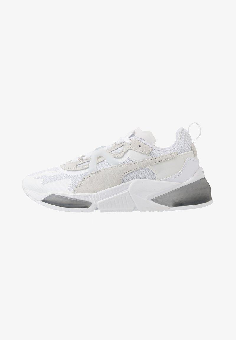 Puma - LQDCELL OPTIC PAX - Sports shoes - white/metallic silver