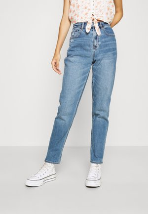 MOM - Jeans Tapered Fit - darkness falls