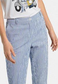 Uta Raasch - Trousers - blau/offwhite - 4