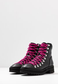 Faith - BUCK - Lace-up ankle boots - black - 4