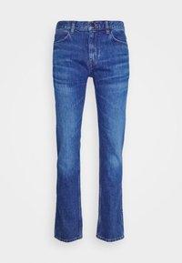 HUGO - Džíny Slim Fit - bright blue - 4