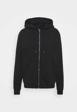 FREELEVEN ZIP FLEECE - Felpa aperta - black
