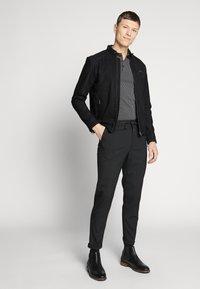 Selected Homme - CLASSIC JACKET  - Leather jacket - black - 1