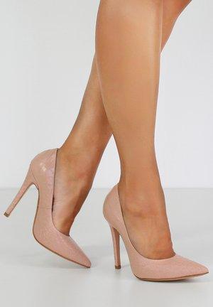 LISA - Zapatos altos - nude
