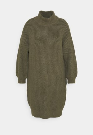 NMROBINA HIGH NECK DRESS  - Jumper dress - kalamata