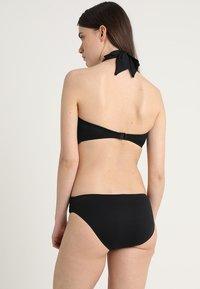 Seafolly - TWIST BAND HIPSTER - Bikinibroekje - noir - 2