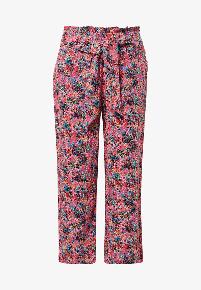 Trousers - shocking pink