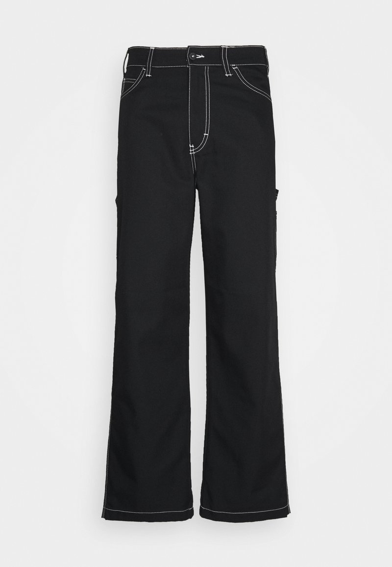 Napapijri The Tribe - SAIMAA UNISEX - Trousers - black