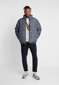 Topman - PLAID CHECK PUFFER - Winterjas - blue - 1