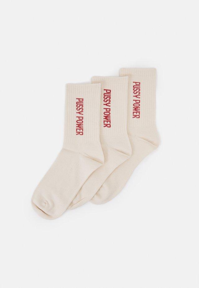 LUCY SOCK 3 PACK - Socks - orange dark