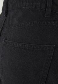 Cotton On - HIGH RISE MILEY  - Jeans Shorts - stonewash black - 2