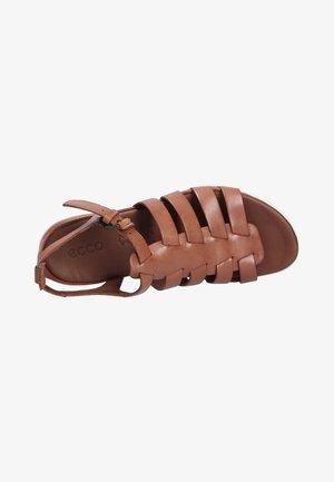 Sandals - mahogany (02195)