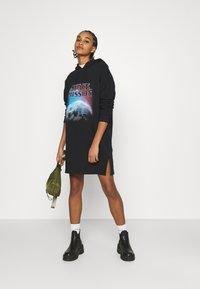 Even&Odd - Day dress - black/multi-coloured - 1