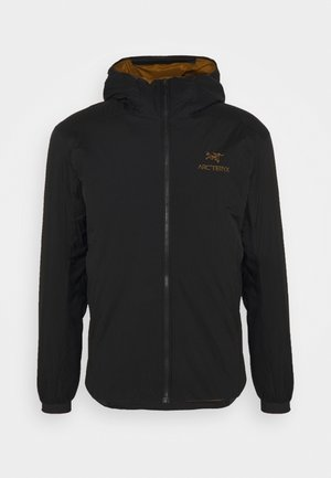 ATOM HOODY MENS - Chaqueta outdoor - black