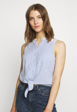 MORGAN BLOUSE - Blouse - blue