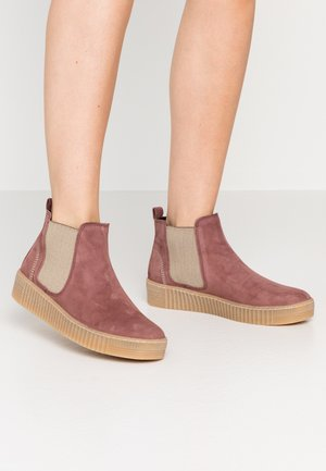 Ankle boots - pastell rose