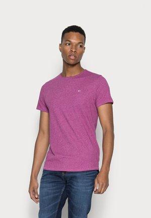 JASPE NECK - T-shirts - autumn plum