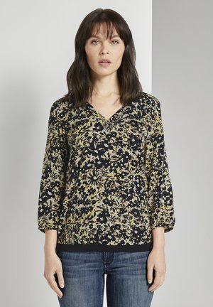 Blouse - yellow flower design