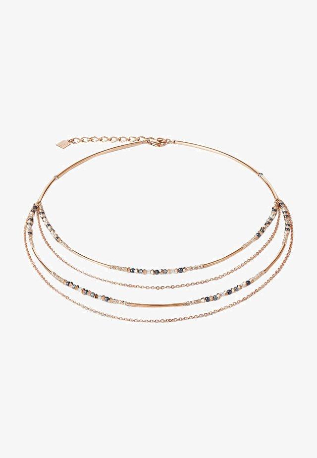Necklace - grau