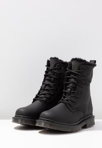 Dr. Martens - 1460 KOLBERT SNOWPLOW - Lace-up ankle boots - black - 4