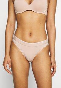 Calvin Klein Underwear - ONE MICRO - Briefs - honey almond - 0