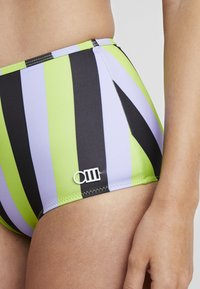 Solid & Striped - THE KIKI BOTTOM - Bikinialaosa - lavender/lime/black