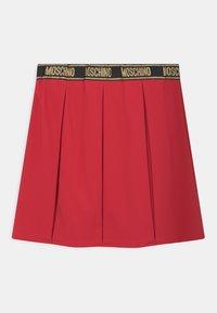 MOSCHINO - SKIRT - Mini skirt - flame red - 1