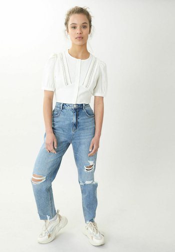 Straight leg jeans - denimblau