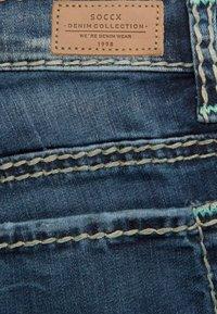 Soccx - Slim fit jeans - dark stone used - 3