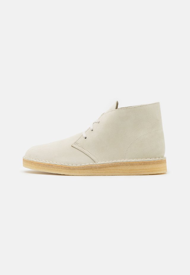 DESERT COAL - Casual lace-ups - offwhite