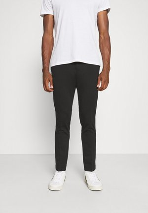 SLHSLIM PETE FLEX STRING - Trousers - black